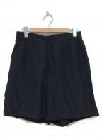 KAPTAIN SUNSHINE()の古着「Trainer Easy Shorts」 ブラック