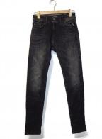REPLAY(リプレイ)の古着「デニムパンツ」|ブラック