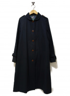 MINATONO TENRANKAI(ミナトノテンライカイ)の古着「ステンカラーコート」|ブラック