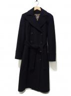 D&G(ドルチェアンドガッバーナ)の古着「レオパードコート」|ブラック
