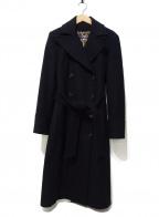 D&G(ドルチェ&ガッバーナ)の古着「レオパードコート」|ブラック