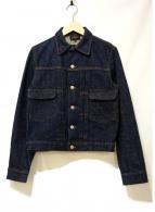 A.P.C.(アーペーセー)の古着「リジットデニムジャケット」|インディゴ