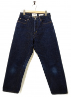 YAECA(ヤエカ)の古着「セルビッチデニムパンツ」|インディゴ