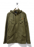 Denham(デンハム)の古着「フーデッドジャケット」|オリーブ