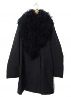SPECCHIO(スペッチオ)の古着「ラムファー中綿コート」|ブラック