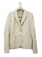ETRO(エトロ)の古着「テーラードジャケット」|ホワイト