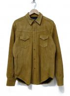()の古着「スウェードシャツ」|ベージュ