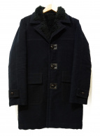 Rags McGREGOR(ラグスマックレガー)の古着「コットンモールスキンランチコート」|ブラック