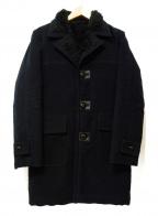 Rags McGREGOR(ラグス マクレガー)の古着「コットンモールスキンランチコート」|ブラック