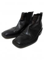 CoSTUME NATIONAL HOMME(コスチューム ナショナルオム)の古着「サイドゴアブーツ」 ブラック