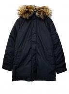 Pyrenex(ピレネックス)の古着「ダウンコート」 ブラック