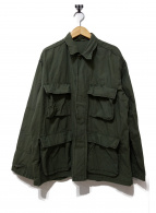 ROTHCO(ロスコ)の古着「アーミーシャツジャケット」|グリーン