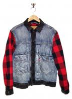 LEVIS(リーバイス)の古着「デニムジャケット」|ネイビー
