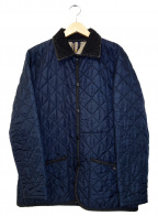LAVENHAM(ラベンハム)の古着「キルティングコート」|ネイビー