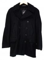 GLOVER ALL(グローバーオール)の古着「Pコート」|ブラック