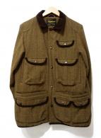 ()の古着「ツイードハンティングジャケット」 ブラウン