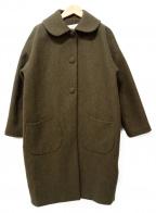 latelier du savon(アトリエドゥサボン)の古着「コート」|オリーブ