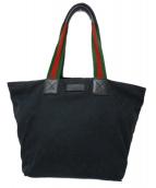 ()の古着「シェリーライントートバッグ」|ブラック