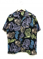Star OF HOLLYWOOD(スターオブハリウッド)の古着「アロハシャツ」|ブラック