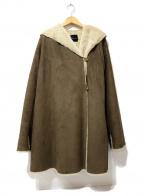 ROSSO(ロッソ)の古着「エコムートンコート」 ブラウン