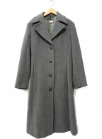 MAX&Co.(マックスアンドコー)の古着「アンゴラウール混トレンチコート」|グレー