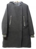 JAMES PERSE(ジェームスパース)の古着「ダウン切替コート」 ブラック