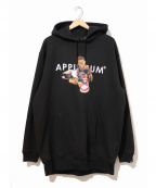 APPLEBUM(アップルバム)の古着「シカゴボーイスウェットパーカー」|ブラック