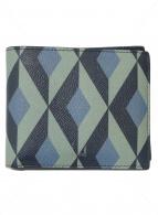 ()の古着「2つ折りカードケース」|ブルー