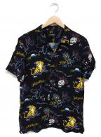 RUDE GALLERY(ルードギャラリー)の古着「アロハシャツ」 ブラック
