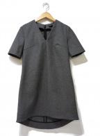 YOKO CHAN(ヨーコチャン)の古着「ウールワンピース」 グレー