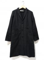 evam eva(エヴァムエヴァ)の古着「コート」 ブラック