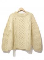 INVERALLAN(インバーアラン)の古着「ハンドニット」|ホワイト