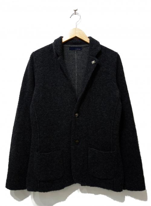 LARDINI(ラルディーニ)LARDINI (ラルディーニ) ウールテーラードジャケット グレー サイズ:XSの古着・服飾アイテム