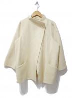 DAISY LIN for FOXEY(デイジーリンフォクシー)の古着「カシミヤハーフコート」|アイボリー