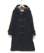 LONDON Tradition(ロンドントラディション)の古着「英国製ロングダッフルコート」|ブラック