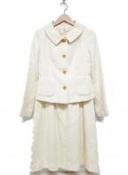 OLD ENGLAND(オールドイングランド)の古着「セットアップスーツ」 ホワイト