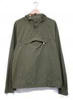 Battenwear(バテンウェア)の古着「アノラックパーカー」 グリーン