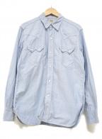 THE REAL McCOYS(ザ リアルマッコイズ)の古着「ウエスタンシャツ」 スカイブルー