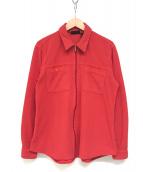 ()の古着「フリースジャケット」 レッド