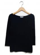 AURALEE for IENA(オーラリー イエナ)の古着「別注ボートネックTシャツ」|ブラック