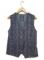CIRCOLO 1901(チルコロ1901)の古着「ジレ」 ネイビー