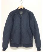 LEVI'S(リーバイス)の古着「キルティングブルゾン」|ネイビー