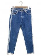 ()の古着「デザインデニムパンツ」|インディゴ