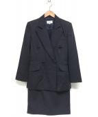 ()の古着「セットアップダブルスーツ」 ネイビー