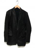 ATAO(アタオ)の古着「レザーテーラードジャケット」 ブラウン