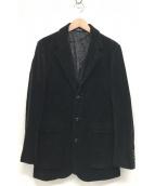 ()の古着「コーデュロイジャケット」 ブラック