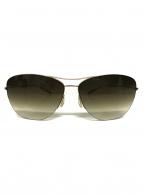 ()の古着「グラデーションレンズサングラス」|ゴールド