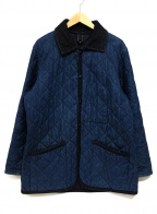 LAVENHAM(ラベンハム)の古着「キルティングジャケット」|インディゴ