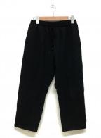 WILLY CHAVARRIA(ウィリーチャバリア)の古着「イージーパンツ」 ブラック