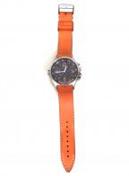 HAMILTON()の古着「カーキ エアレース GMT」|オレンジ